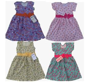 Vestido Infantil Boneca Kit Com 10 Peças Atacado Oferta