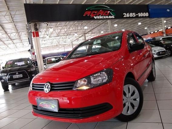 Volkswagen Voyage 1.6 Flex 2014 Completo Couro