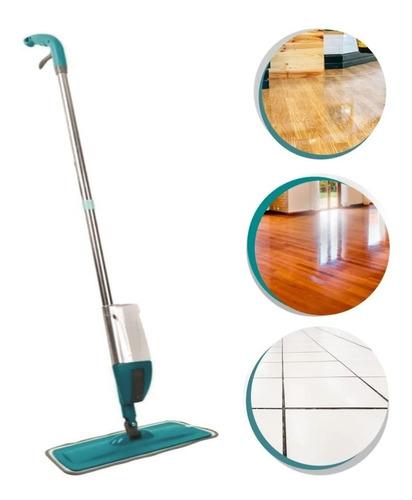 Mop Spray Rodo Magico Microfibra Reservatório Limpa Fácil