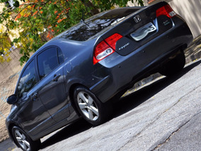 Honda Civic Lxs Aut. - Ótimo Estado - Bancos Em Couro 2008