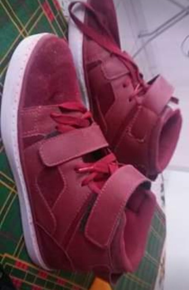 Sapato Masculino Cor Vermelha