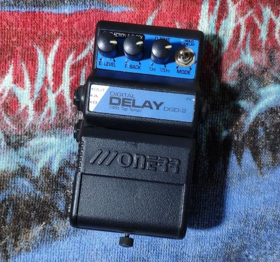 Onerr Dgd-2 Digital Delay (tap Tempo) - Willaudio