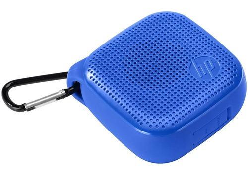Caixa De Som Hp Portátil S300 3w Rms Bluetooth Azul P2