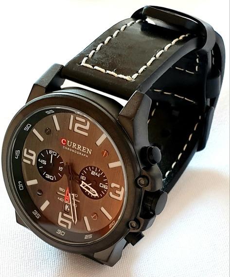 Relógio De Pulso Curren Masculino Quartzo