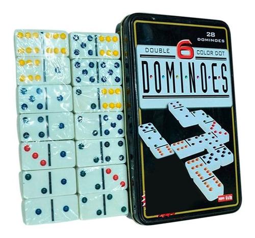 Domino De 28 Fichas Juego De Mesa