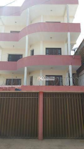 Imagem 1 de 18 de Apartamento Com 3 Dormitórios, 130 M² - Venda Por R$ 350.000,00 Ou Aluguel Por R$ 1.200,00/mês - Centro - São Sebastião Do Passé/ba - Ap2715