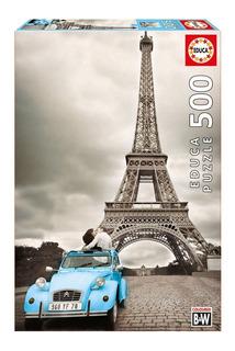 Rompecabeza Puzzle Educa X 500 Piezas Torre Eiffel Paris