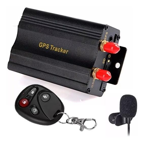 Rastreador Gps Bloqueador Veicular Tk-103 B Coban + Controle