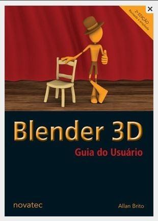 Blender 3d Allan Brito 496 Páginas Modelagem