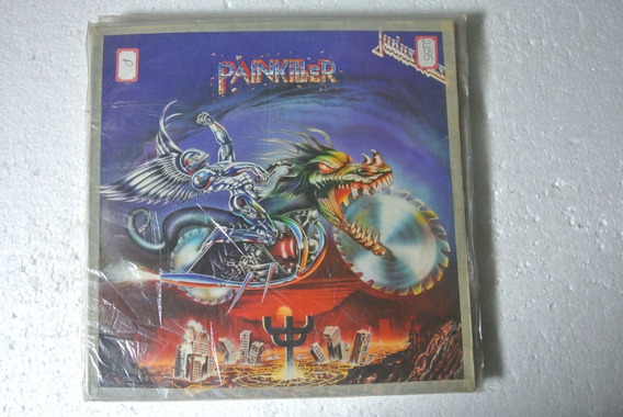 Lp Juda Priest - Painkiller - Sem Encarte 1990