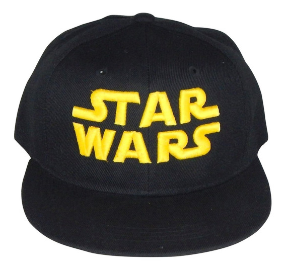 Gorra Star Wars Black Moda Jedi Sith Bordado 3d Ajustable
