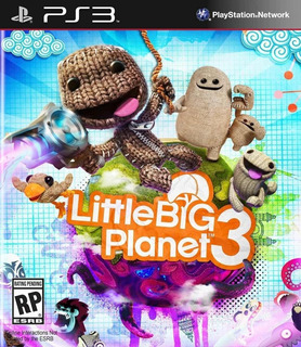 Little Big Planet 3 Ps3 Oferta Navidad - Comercial Zg