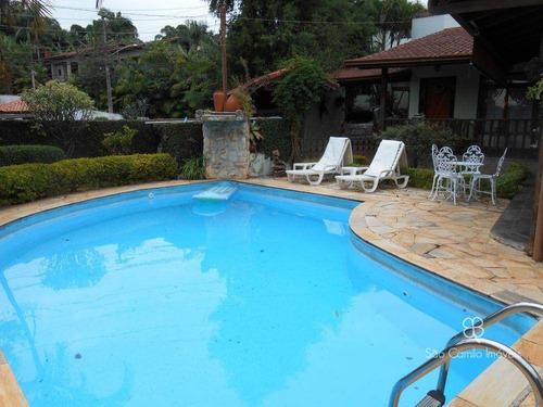 Casa Com 3 Dormitórios À Venda, 200 M² Por R$ 950.000,00 - Granja Viana - Carapicuíba/sp - Ca0113