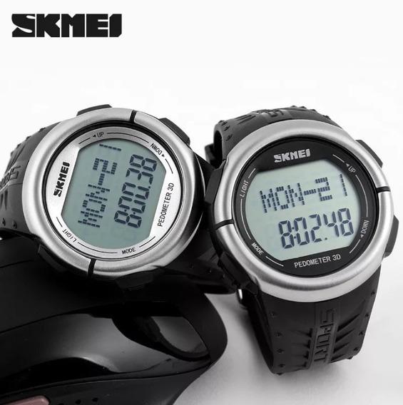 Relógio Skmei 1058 Com Pedômetro E Frequência Cardíaca