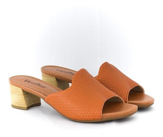 Tamanco Feminino Da Usaflex Aa1609 Islen Calçados