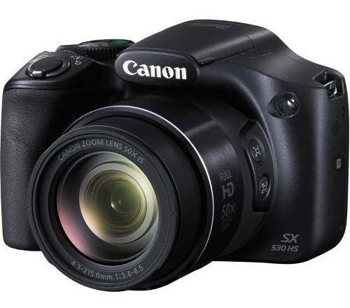 Câmera Profissional Digital Canon Powershot Sx530 Hs