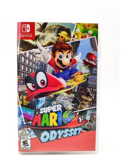 Jogo Super Mario Odyssey - Nintendo Switch - Mídia Física