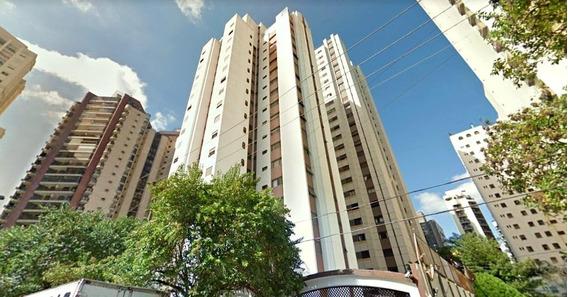 Apartamento Residencial Tipo Flat Para Venda, Andar Alto, Alugado/com Renda, Rua Juquis, Moema, São Paulo - Ap14068. - Ap14068