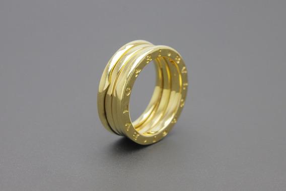 |3540| Aliança / Anel Em Ouro Amarelo 18k