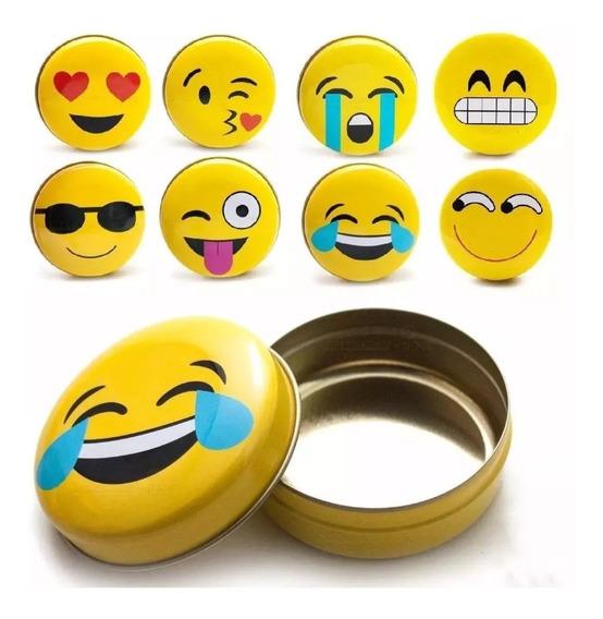 36 Lembrancinha Festa Emoji Amarela
