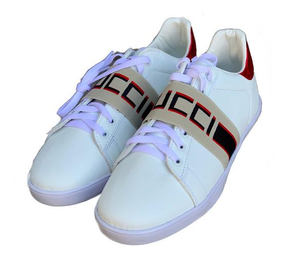 Tenis Gucci Cinta Logo