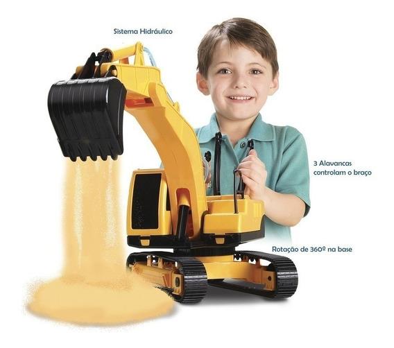 Escavadeira Still - Sistema Hidráulico - Roma Brinquedos