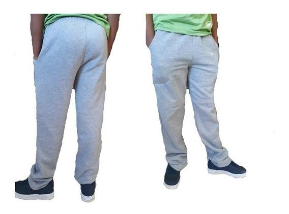 Calça Moleton Com Bolso Felpuda - Kit 3 Peças-cores Sortidas