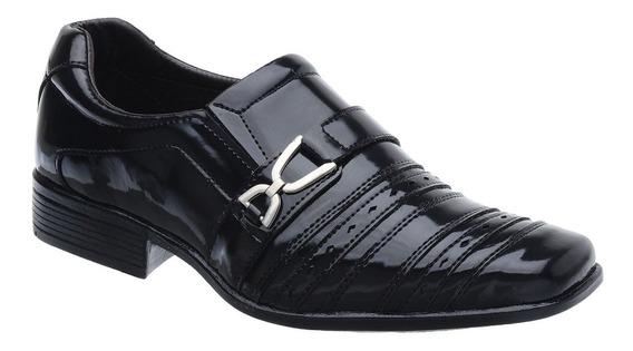 Sapato Social Masculino Fearnothi Couro Sintético