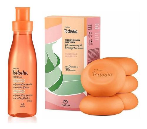 Kit Mango Rosa Y Agua De Coco X2 Productos Natura