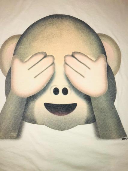 Remera Monito Emoji 47 Street T 42