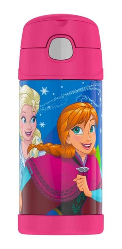 Thermos - Termo Para Bebidas - Frozen -fucsia - Original!!!