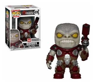 Funko Pop 478 Gears Of War Locust Boomer Nuevo Original