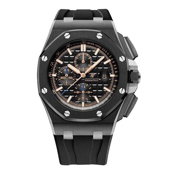 Relógio Modelo Crono Black Ceramic - 44mm
