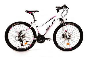 Bicicleta Mtb Slp Venecia Mujer Rod 26 21 Vel. Shimano Disco