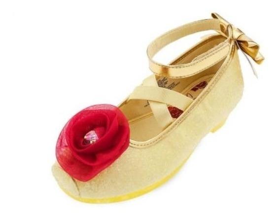 Sapato Bela Princesa Disney Edição A Bela E Fera