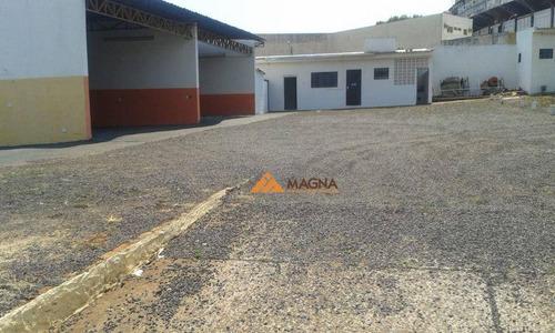 Imagem 1 de 19 de Terreno Para Alugar, 1100 M² Por R$ 9.000,00/mês - Jardim Palma Travassos - Ribeirão Preto/sp - Te0036