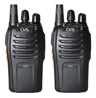 Par De Radios Uhf 16 Canales Transceiver