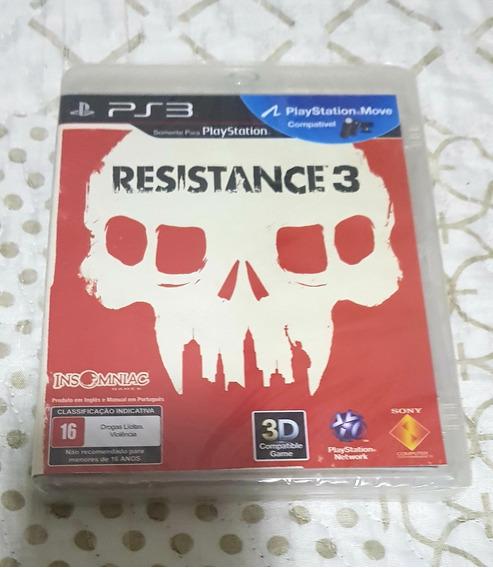 Jogo Ps3 - Resistance 3 - Lacrado
