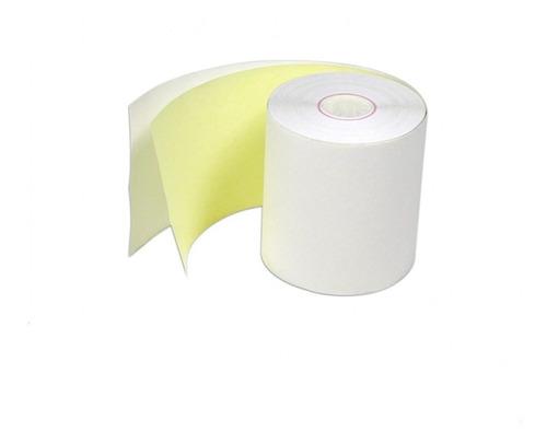 Imagen 1 de 2 de Rollos Contometro(caja 20 Und)  +1 Copia Amarillo Y Blanco