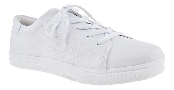 Tênis Branco Petite Jolie Lupita Pj4608 Original Envio 24h