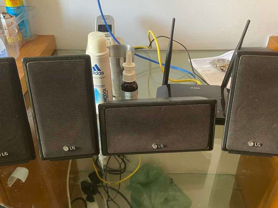 Caixas De Som De Home Teather LG 5.1 850watts Rms