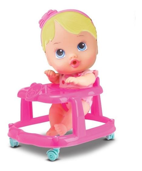 Brinquedo Boneca My Little Andador Divertoys Menina Brincar