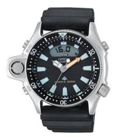Relógio Citizen Aqualand Jp2000-08e Série Prata