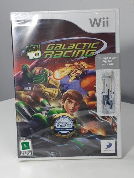 Ben 10 Galactic Racing Wii Original Americano Lacrado