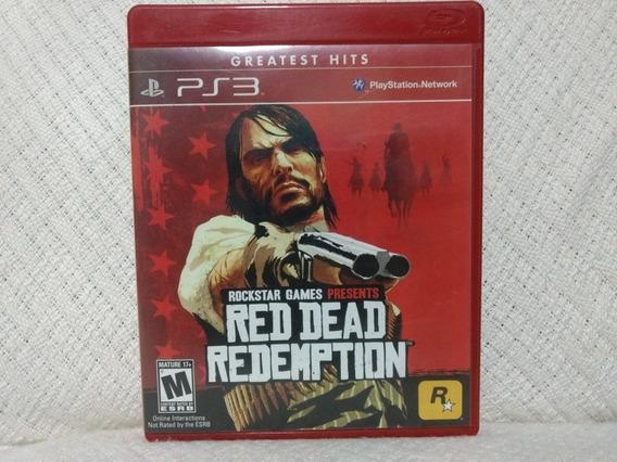 Jogo Ps3 Red Dead Redemption Mídia Física