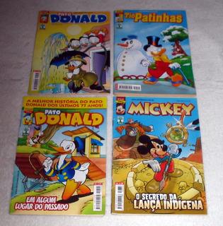 4 Hqs - Gibis Disney - Donald - Mickey - Tio Patinhas