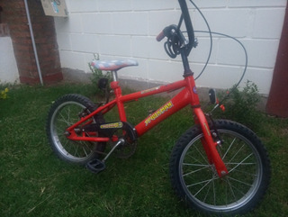Bicicleta Cross Rodado 16. Muy Buen Estado! Poco Uso
