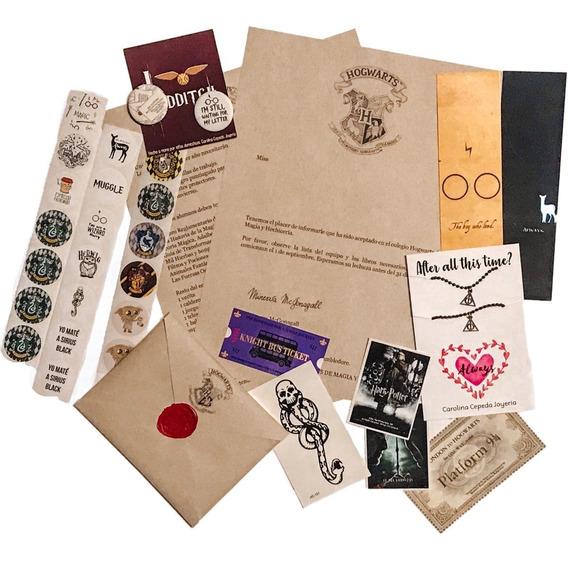 Harry Potter Carta Hogwarts Cumpleaños Paquete Amor
