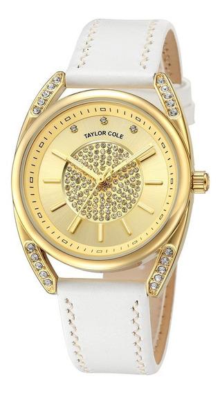 Reloj De Pulsera De Cuarzo Para Mujer, Diseño De Diamantes D