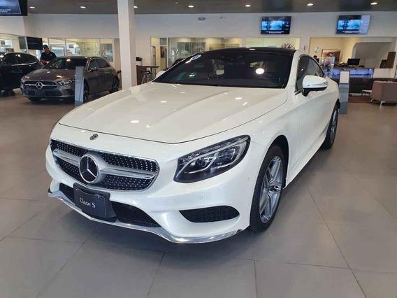 Mercedes-benz Clase S 2018 2p S 500 Coupe V8/4.7/t Aut